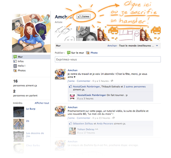 Fan Page Facebook Amchan