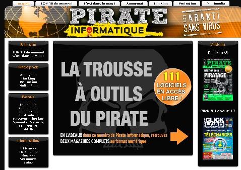CD Pirate Informatique N°11 (Novembre Decembre 2011 – Janvier 2012) [FS][US]