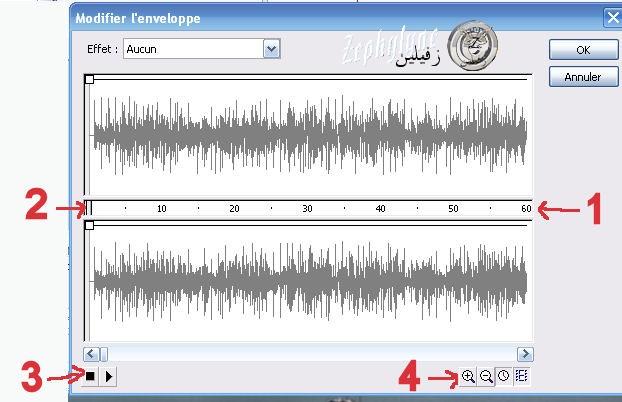 Réglage du volume ou coupure d'un morceau de musique trop long dans flash 111112115104692889039277