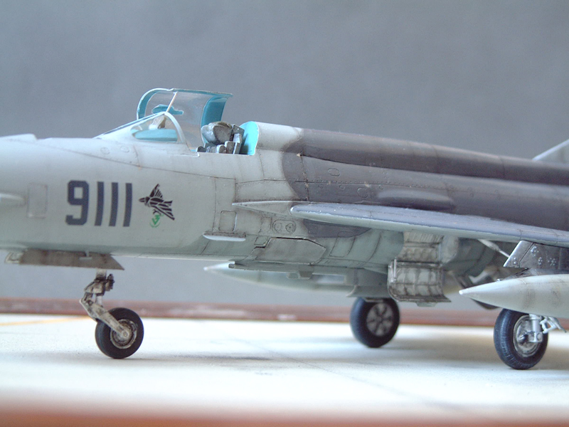 [Academy] Mig-21 MF - Polish Air Force - 1/48e 111120120111476909073342