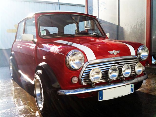 austin mini cooper 1300 carbu 6cv de 1992 vente. Black Bedroom Furniture Sets. Home Design Ideas