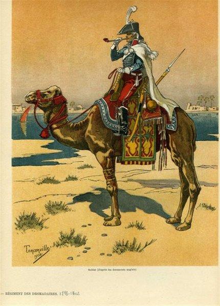 Bonaparte en Egypte à dromadaire 111125033107359349095991