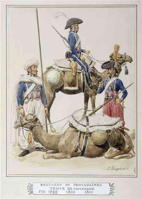 Bonaparte en Egypte à dromadaire 111125033107359349095992