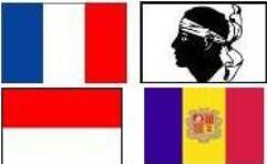 drapeau France Corse