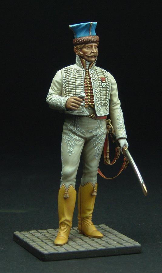 Officier de Hussard en Tenue de Nankin. (Il est fini,...enfin!) - Page 3 111129021822359349110579