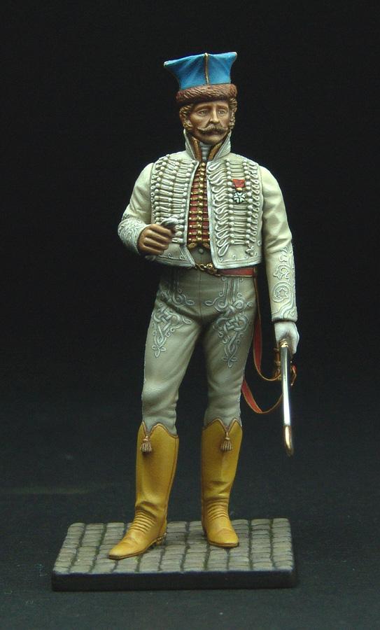 Officier de Hussard en Tenue de Nankin. (Il est fini,...enfin!) - Page 3 111129021822359349110580