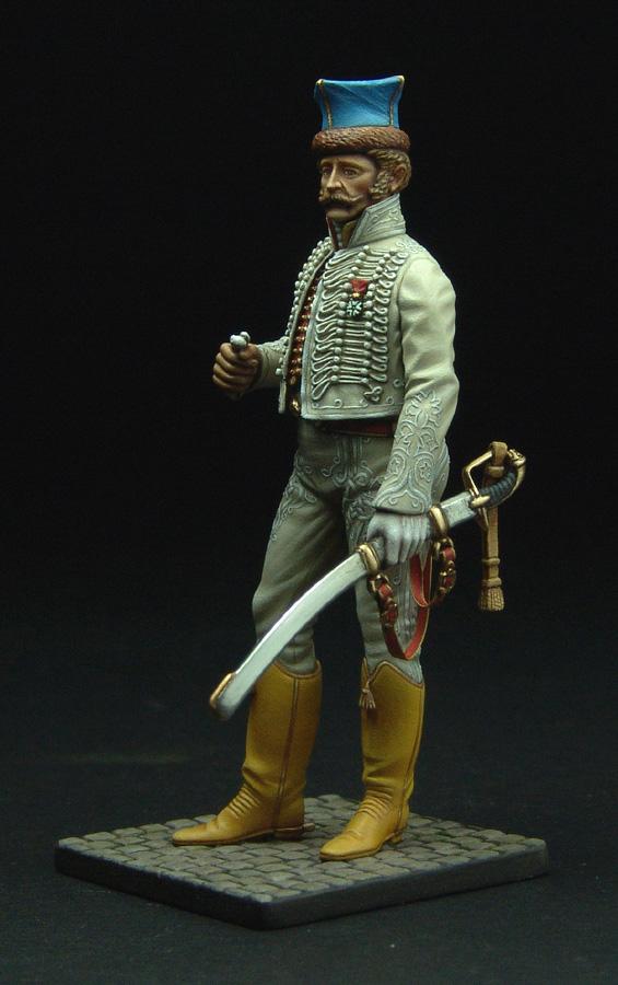 Officier de Hussard en Tenue de Nankin. (Il est fini,...enfin!) - Page 3 111129021822359349110582