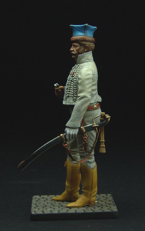 Officier de Hussard en Tenue de Nankin. (Il est fini,...enfin!) - Page 3 111129021822359349110583