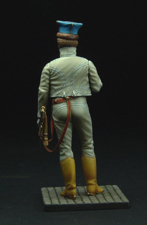 Officier de Hussard en Tenue de Nankin. (Il est fini,...enfin!) - Page 3 111129021822359349110585