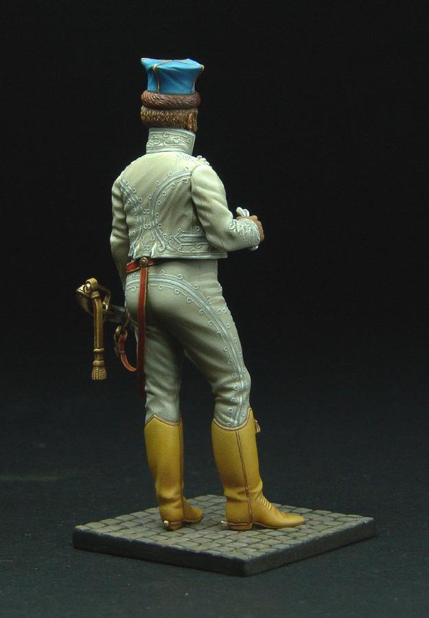Officier de Hussard en Tenue de Nankin. (Il est fini,...enfin!) - Page 3 111129021822359349110586