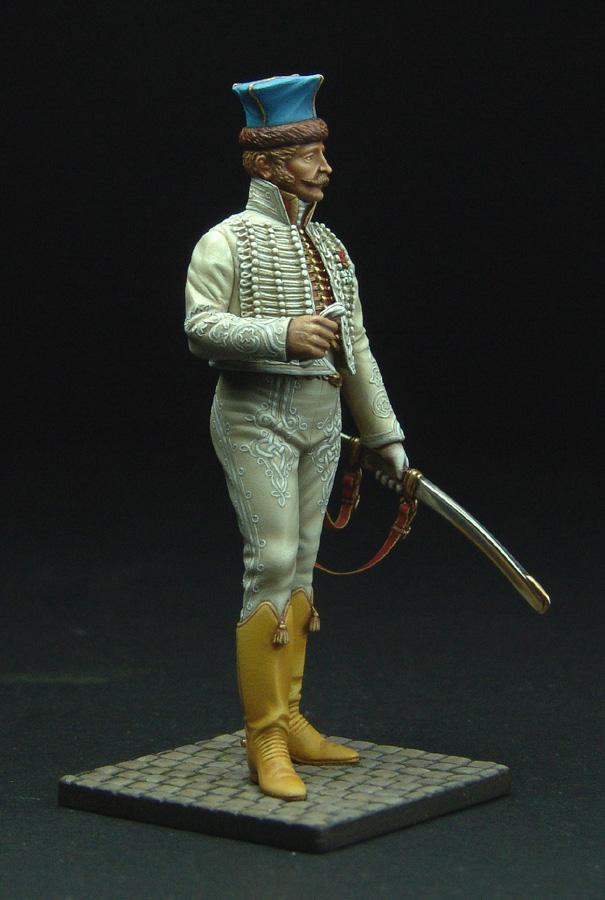 Officier de Hussard en Tenue de Nankin. (Il est fini,...enfin!) - Page 3 111129021823359349110588