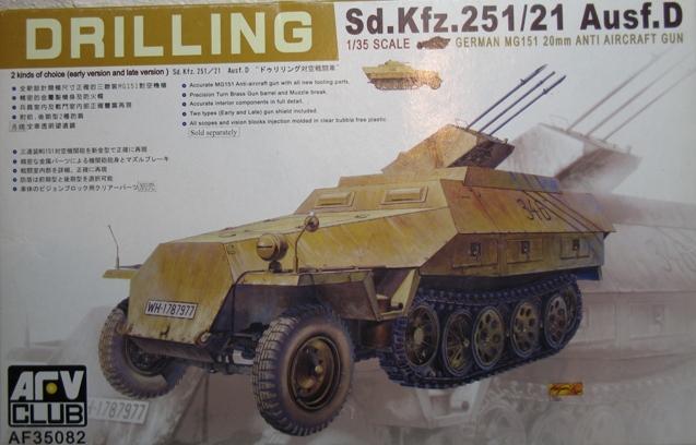 sd.kfz 251/21 ausf D AFVclub 1/35 111203060447667019129583