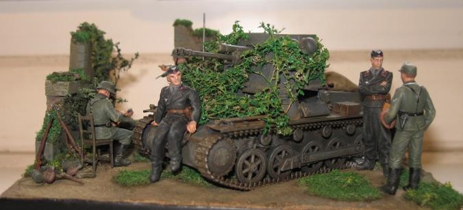panzerjager I 4,7cm pak Italeri 1/35 111208033024667019152864