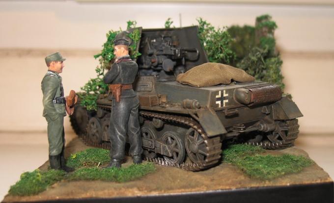 panzerjager I 4,7cm pak Italeri 1/35 111208033037667019152865