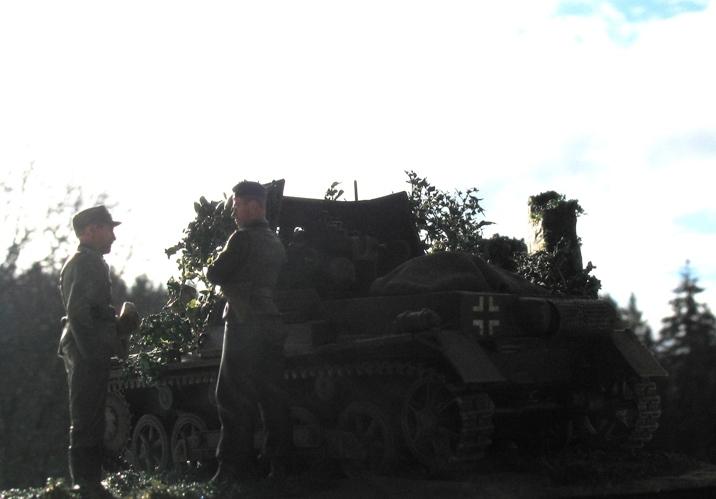 panzerjager I 4,7cm pak Italeri 1/35 111210040054667019161405